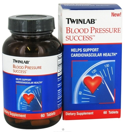 DROPPED: Twinlab - Blood Pressure Success - 60 Tablets