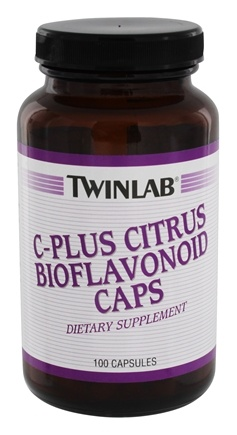 Twinlab - C-Plus Citrus Bioflavonoid with Rutin - 100 Capsules LUCKY PRICE