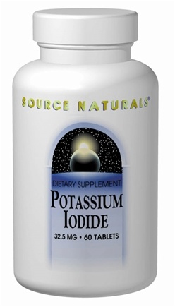 Source Naturals - Potassium Iodide 32.5 mg. - 60 Tablets