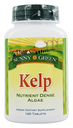 DROPPED: Sunny Green - Kelp - 120 Tablets