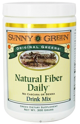 DROPPED: Sunny Green - Original Greens Natural Fiber Daily Drink Mix - 300 Grams CLEARANCE PRICED