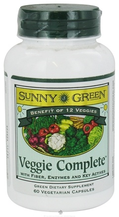 DROPPED: Sunny Green - Veggie Complete - 60 Vegetarian Capsules