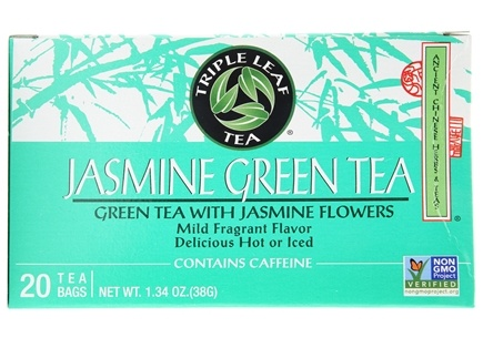 Triple Leaf Tea - Jasmine Green Tea - 20 Tea Bags