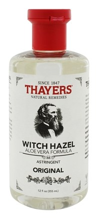 Thayers - Witch Hazel Astringent with Aloe Vera Original - 12 oz.