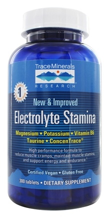 Trace Minerals Research - Electrolyte Stamina Tablets - 300 Tablets