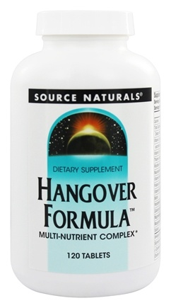 Source Naturals - Hangover Formula Multi-Nutrient Complex - 120 Tablets