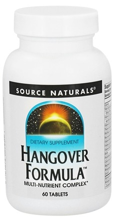 DROPPED: Source Naturals - Hangover Formula Multi-Nutrient Complex - 60 Tablets CLEARANCED PRICED