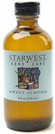 DROPPED: Starwest Botanicals - Sweet Almond Oil refined - 4 oz. CLEARANCE PRICED