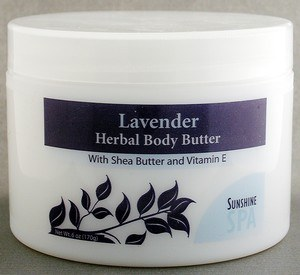 DROPPED: Sunshine Spa - Body Butter Lavender - 6 oz.