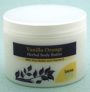 DROPPED: Sunshine Spa - Body Butter Vanilla/Orange - 6 oz.