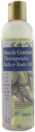 Sunshine Spa - Body Oil Muscle Comfort - 8 oz.