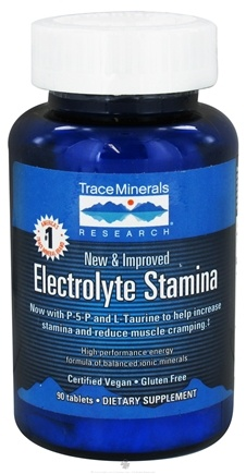DROPPED: Trace Minerals Research - Electrolyte Stamina Tablets - 90 Tablets