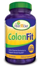 DROPPED: Fiber 35 Diet - ColonFit Clearance Priced - 60 Capsules