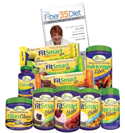 DROPPED: Fiber 35 Diet - Fiber35Diet Complete Weight Loss Solution Power Package