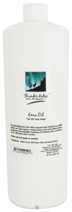 DROPPED: Thunder Ridge Emu Products - 100% Emu Oil - 32 oz.