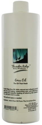 DROPPED: Thunder Ridge Emu Products - 100% EMU Oil - 16 oz.