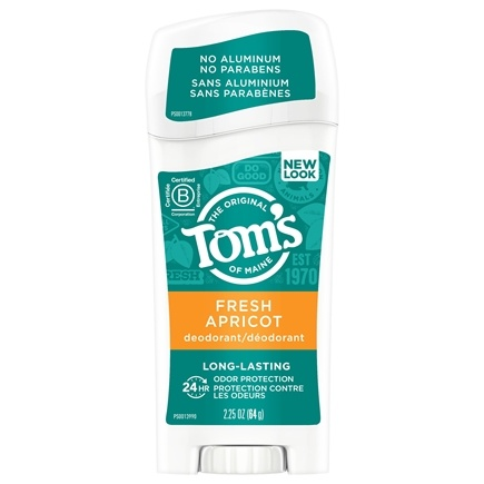 Tom's of Maine - Natural Deodorant Stick Long-Lasting Apricot - 2.25 oz.