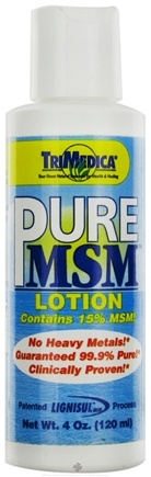 DROPPED: Trimedica - PureMSM Sulphur Lotion - 4 oz. CLEARANCE PRICED