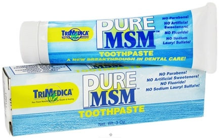 DROPPED: Trimedica - MSM Toothpaste - 3 oz.
