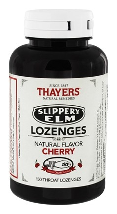 Thayers - Slippery Elm Lozenges Cherry - 150 Lozenges