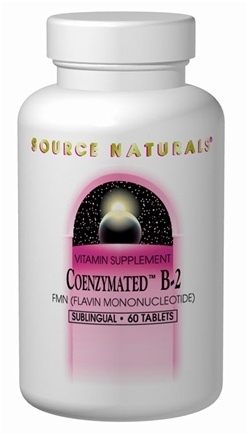 DROPPED: Source Naturals - Coenzymated B-2 Sublingual - 60 Tablets