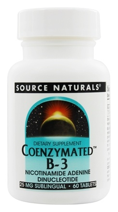 Source Naturals - Coenzymated B-3 - 60 Tablets