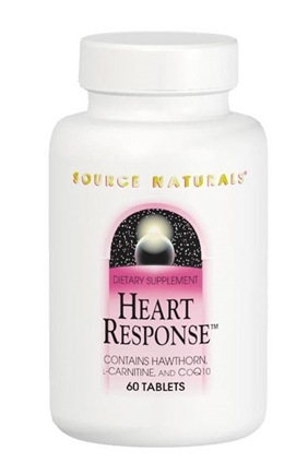 DROPPED: Source Naturals - Heart Response - 90 Tablets
