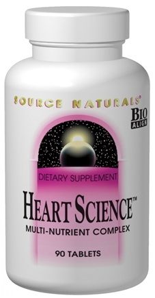 DROPPED: Source Naturals - Heart Science - 90 Tablets