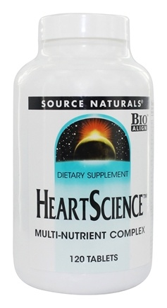 Source Naturals - Heart Science - 120 Tablets