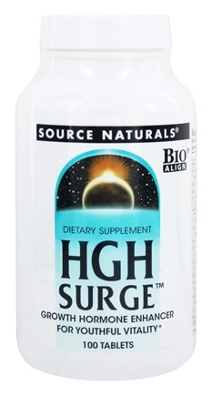 Source Naturals - HGH Surge - 100 Tablets