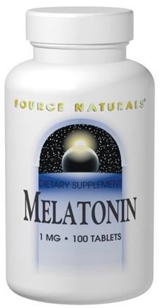 DROPPED: Source Naturals - Melatonin 3 mg. - 120 Tablets CLEARANCE PRICED