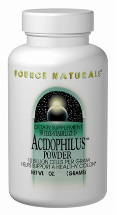 DROPPED: Source Naturals - Acidophilus-Freeze Stabilized Culture - 2 oz.