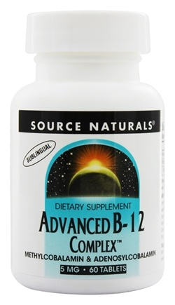 Source Naturals - Advanced B-12 Complex - 60 Tablets