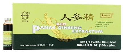 Superior Trading Company - Red Panax Ginseng Extract - 10 Vial(s)