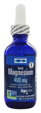 Trace Minerals Research - Liquid Ionic Magnesium 400 mg. - 2 oz.