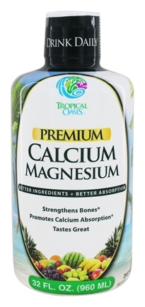 Tropical Oasis - Premium Calcium Magnesium - 32 oz.