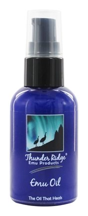 Thunder Ridge Emu Products - 100% EMU Oil - 2 oz.