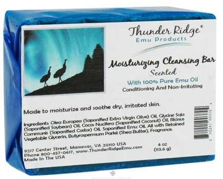 DROPPED: Thunder Ridge Emu Products - Emu Bar Soap Scented - 1 Bars CLEARANCE PRICED
