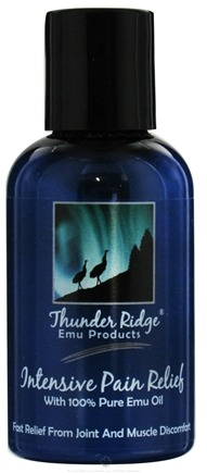 DROPPED: Thunder Ridge Emu Products - Intensive Pain Relief - 2 oz. CLEARANCE PRICED