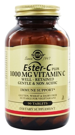 Solgar - Ester-C Plus Vitamin C 1000 mg. - 90 Tablets