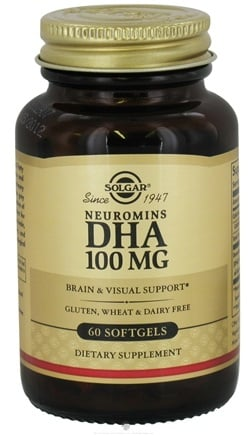 DROPPED: Solgar - Neuromins DHA 100 mg. - 60 Softgels CLEARANCED PRICED