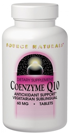 DROPPED: Source Naturals - CoEnzyme Q-10 Sublinguals Peppermint Flavor 30 mg. - 120 Tablets