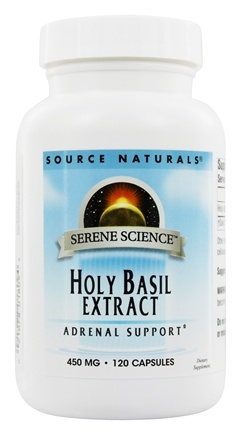 Source Naturals - Holy Basil Extract 450 mg. - 120 Capsules