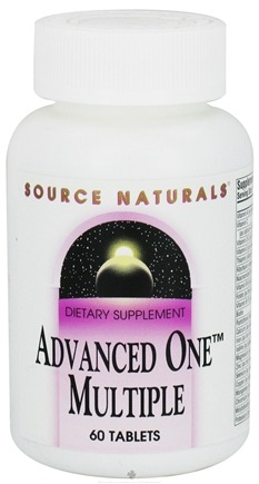 DROPPED: Source Naturals - Advanced One Multiple - 60 Tablets CLEARANCE PRICED
