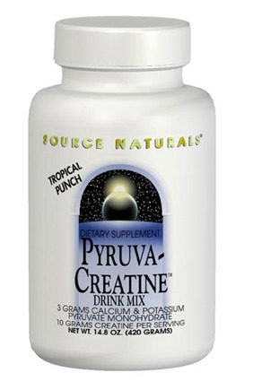 DROPPED: Source Naturals - Pyruva-Creatine Drink Mix - 420 Grams