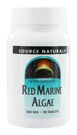 Source Naturals - Red Marine Algae 350 mg. - 90 Tablets