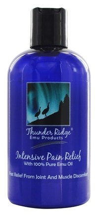 Thunder Ridge Emu Products - Intensive Pain Relief - 8 oz.