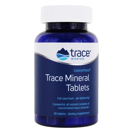 Trace Minerals Research - ConcenTrace Trace Mineral Tablets - 90 Tablets