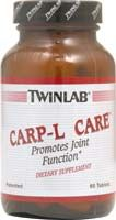 DROPPED: Twinlab - Carp-L Care - 60 Capsules