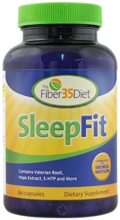 DROPPED: Fiber 35 Diet - SleepFit - 60 Capsules
